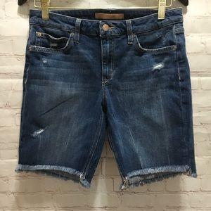 Joe's Jeans The Finn mid rise Bermuda denim shorts